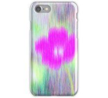 Flower in the rain - iPhone case iPhone Case/Skin