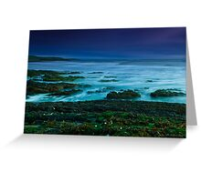 just after the sunset Greeting Card