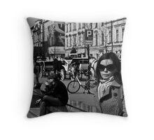 in Krakow, Poland Throw Pillow