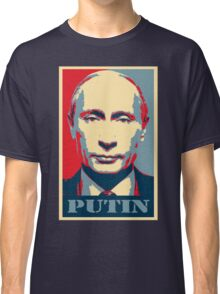 Vladimir Putin, obama poster Classic T-Shirt