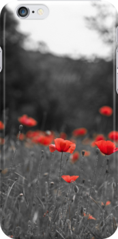Poppy iPhone Case by Karen Havenaar
