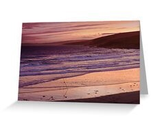 garretstown sunset Greeting Card