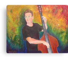 When Paul Plays Canvas Print