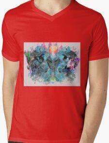 Space invader Mens V-Neck T-Shirt