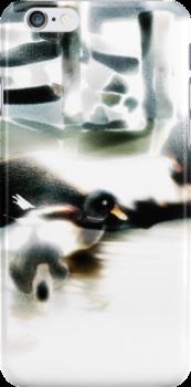 ducks, iPhone case by Gréta Thórsdóttir
