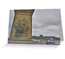 Yorkshire: HMS Resolution Greeting Card