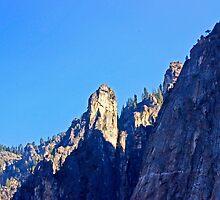 Cathedral Peaks-Yosemite by Tamara Valjean