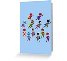 Superhero Cards Greeting Card