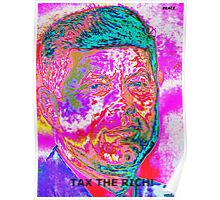 "JFK ""TAX RICH"" Poster"