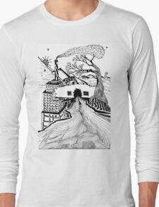 Modern Landscape Long Sleeve T-Shirt