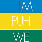 IMPUHWE Colors iPhone Case by Josh Marten