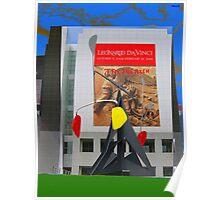 "LEONARDO DA VINCI  ""TAX RICH"" Poster"