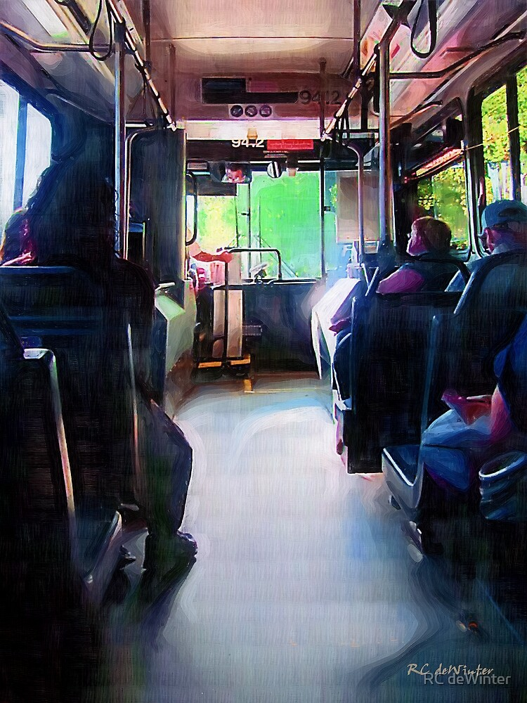 Morning Bus by RC deWinter