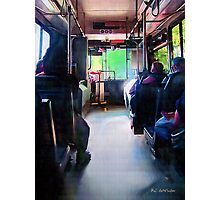 Morning Bus Photographic Print