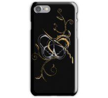 Silver & Gold iPhone Case/Skin