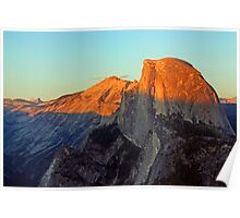 Half Dome at Sunset - Yosemite Poster
