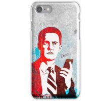 Agent Cooper ( Iphone case ) iPhone Case/Skin