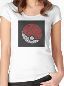 Catch them all Women's Fitted Scoop T-Shirt