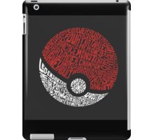 Catch them all iPad Case/Skin