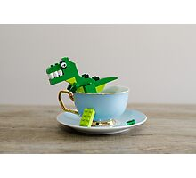 Tea Rex Photographic Print