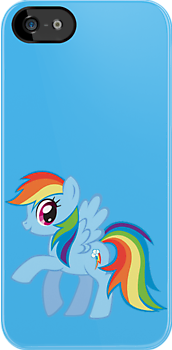 Rainbow Dash (iPhone Case) - My Little Pony Friendship is Magic by