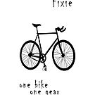 Fixie - one bike one gear by Stefan Trenker