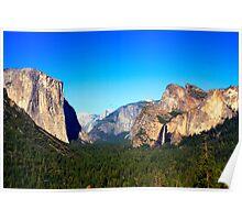 Yosemite Valley Vista Poster