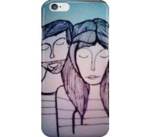 Strange drawing iPhone Case/Skin