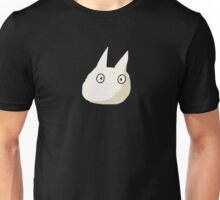 Small White Totoro - No Outline Unisex T-Shirt