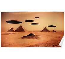 Ancient Aliens by Raphael Terra Poster