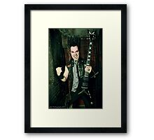 Wayne Static Framed Print