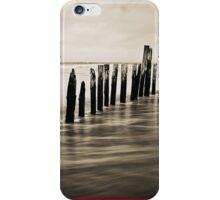 Wooden Poles - iPhone Case iPhone Case/Skin