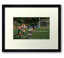 100511 018 0 field hockey Framed Print