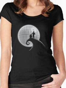 That's No Moon Women's Fitted Scoop T-Shirt