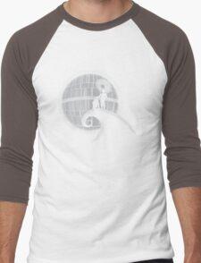 That's No Moon Men's Baseball ¾ T-Shirt