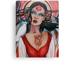 Mary, Queen of Sorrows Canvas Print