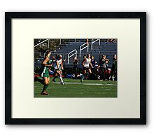 100511 032 0 field hockey Framed Print
