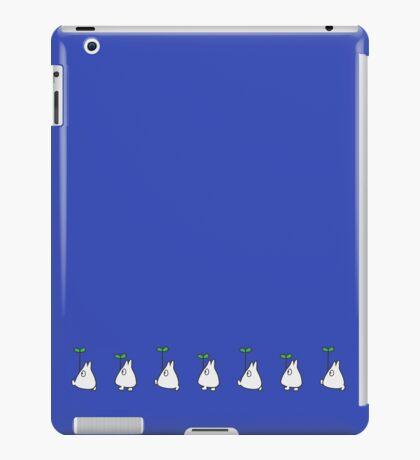 Small White Totoro Walking iPad Case/Skin