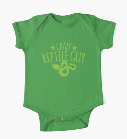 Crazy Reptile guy One Piece - Short Sleeve