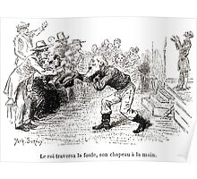 Achille Sirouy Mark Twain Les Aventures de Huck Huckleberry Finn illustration p152 Poster