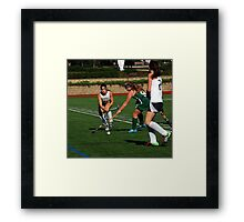 100511 063 0 field hockey Framed Print