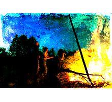 Burning Photographic Print