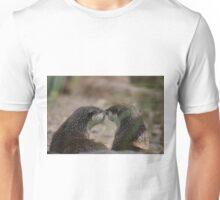 Kissing Otters Unisex T-Shirt