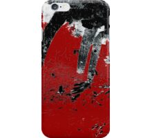 Black White Red Allover I iPhone Case/Skin