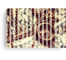 Old Compass Canvas Print