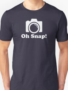 Oh Snap! Funny Photographer T-Shirt