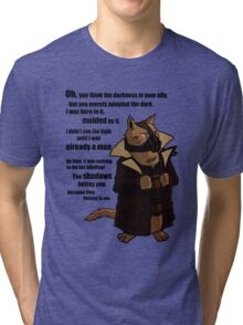 Bane's Cat Rises! Tri-blend T-Shirt