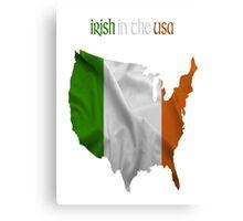 Irish in the USA Canvas Print