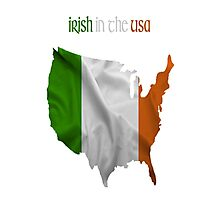 Irish in the USA Photographic Print