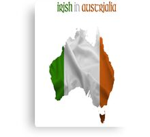 Irish in Australia  Canvas Print